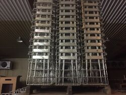 Commercial Wire Egg Baskets Crates galvanized steel