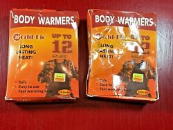 New WORLD-BIO Adhesive Body Warmers - Long Lasting Safe Natural Odorless Air $14.99