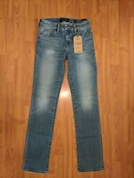 $99 NWT Lucky Brand Women's Ava Straight Jeans - size 25x32