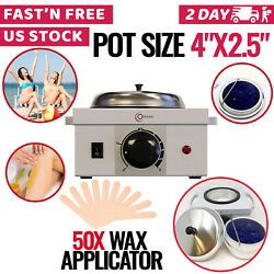Hair Removal Wax Warmer Electric Wax Pot Heater Body Hair Removal Home Melter
