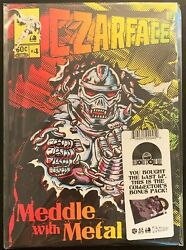 Czarface Meddle With Metal Vinyl RSD Record Store Day 2018 COMIC BOOK FORMAT NEW