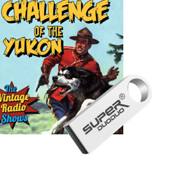 Challenge of the Yukon Old Time Radio Show OTR 609 Episodes-16gb USB Flash Drive