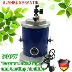 Wax Injector Vacuum Investing & Casting Machine Jewelry Tool Double nozzle 500W