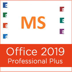 MS Office Professional Plus 2019 3264 Bit Genuine License & DVD