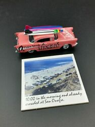2000 JOHNNY LIGHTNING PINK #x27;57 CHEVY SURF RODS PALOS VERDE VIXENS $13.50