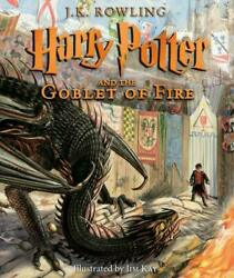 Harry Potter and the Goblet of Fire: The Illustrated Edition (Hardcover 2019)