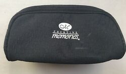 New Creative Memories Navy Blue Make Up Case 7
