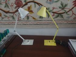 Vintage Mid Century Tensor Swing Arm High Intensity Desk Lamps - Your Choice!