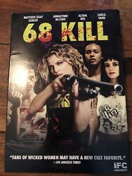 68 Kill book & movie combo pack (DVD & paperback). Signed by author.