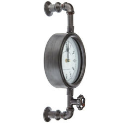 Industrial Pipe Wall Clock Contemporary Home Decor. Great Gift $49.99