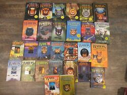 Lot of Warriors Cat Books Hardcover Some 1st Sold Individually See Descrip