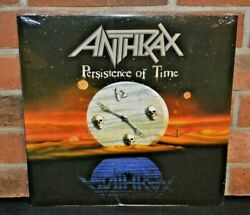 ANTHRAX - Persistence of Time Limited 2LP BLACK VINYL Gatefold New