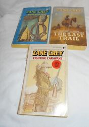 Three Paperback Books by Zane Grey