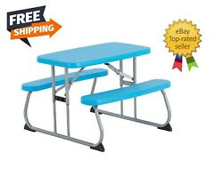 Lifetime Childrens Picnic Table Steel Frame High Density ASSORTED COLOR