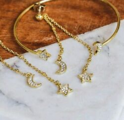 NEW PURA VIDA OCTOBER 2019 JEWELRY CLUB GOLD BRACELET AND EARRING SET