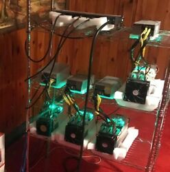 Four fully-functional Original Bitmain Antminer S9 with PSU