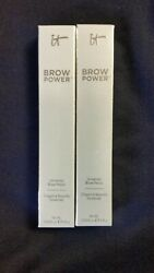 2 New IT COSMETICS BROW POWER UNIVERSAL PENCIL (Boxed -- 0.56 oz. each)