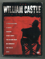 THE WILLIAM CASTLE FILM COLLECTION • DVD • NEW • FREE SHIPPING