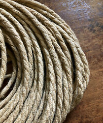Natural Jute Rope Electrical Cord Rustic Style Hemp Covered Lamp Pendant Wire $1.45