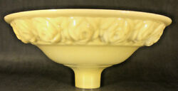 New 16quot; Antique Style Embossed Roses Nu Gold Torchiere Floor Lamp Shade USA #028 $235.64
