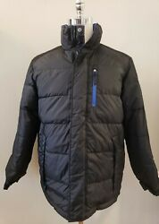 NWT TOMMY HILFIGER Mens REVERSIBLE DOWN PUFFER JACKET COAT M #Z