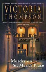 Murder on St. Mark's Place A Gaslight Mystery by Victoria Thompson 9780425239728