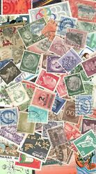 Worldwide Postage Stamps 50 Used amp; Mint Off Paper FREE SHIPPING $1.50