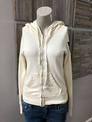 291 from Venice Zip Hoodie On The Reach Again Cream Size 1 XS