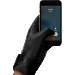 Mujjo Leather Touchscreen Unisex Gloves $86.95