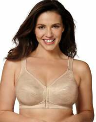 Playtex 18 Hour Wirefree Bra Posture Boost PowerSupport Side Back Smoothing E525 $16.74