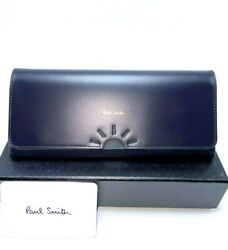 New $375 Paul Smith quot;SUNquot; Women#x27;s Leather Trifold Wallet $195.00