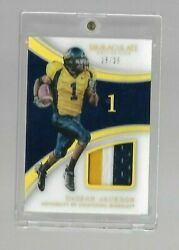 2016 IMMACULATE COLLECTION DESEAN JACKSON 3 COLOR PATCH #D 2525 CAL BEAR