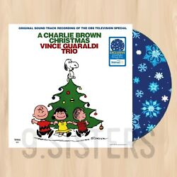 SNOWFLAKE VINYL----  VINCE GUARALDI A Charlie Brown Christmas EXCLUSIVE LP  1109