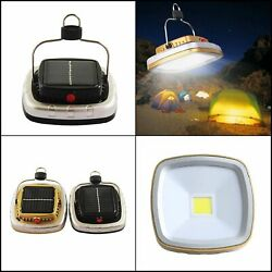 Led Camping Lantern Tent Lights Solar Lanterns Led Lamp Outdoor Rechargeable $21.22