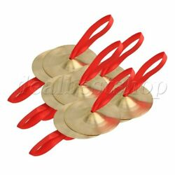 10 x Diameter 9cm Copper Band Cymbal Percussion Musical Instrument Toy $20.99