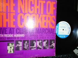 FREDDIE HUBBARD NIGHT OF THE COOKERS VOL. 1 BLUE NOTE 4209 NY EAR MONO OR.