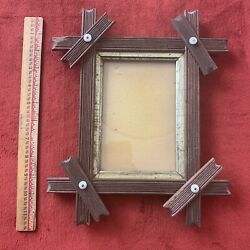 Vintage antique picture frame 1871 extremely rare