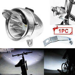Sturdy Classical Vintage Bicycle Bike LED Light Headlight Front Retro Head Lamp $12.99
