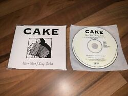 CAKE Short Skirt Long Jacket 2001 EUROPEAN promo collectors CD single $10.00