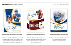 2019 PANINI IMMACULATE FOOTBALL HOBBY PICK YOUR PLAYER (PYP) 1 BOX BREAK #1