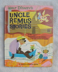 WALT DISNEY UNCLE REMUS STORIES  Big Giant Golden Book  Mary Blair cover VG+