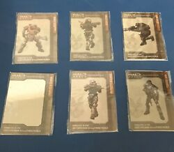 Rare Halo Reach Bungie Collectible Noble Team Metal Cards Noble Kat Carter Jun $58.78