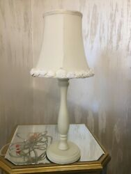 Brand New Choice of Pink Mint Green Ivory Bedroom Lamp 40 pieces available $23.00