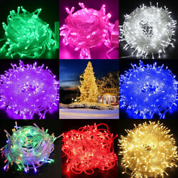 Fairy String Lights 500 LED Christmas Tree Wedding Xmas Party Decor Outdoor USA $5.85