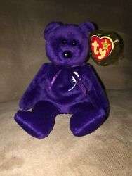 1st Charity Edition Rare Ty Princess Diana Beanie Baby by Original Owner 1997