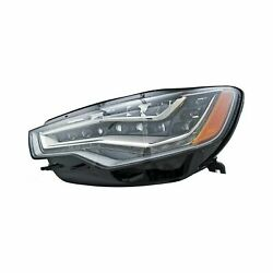 For Audi A6 12-15 Replace Driver Side Replacement Headlight Lens