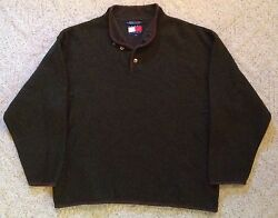 Tommy Hilfiger Pullover Wool Blend Sweater Adult Large