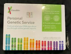 23andMe Personal Genetic DNA Saliva Collection Kit Ancestry LAB FEE NOT Included