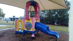 COMMERCIAL PLAYGROUND #1 PLAYSET EQUIPMENT PARK SCHOOL DAYCARE PRESCHOOL KIDS