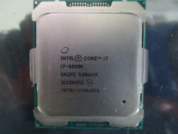 Intel Core i7 6850K 3.6GHz Hexa-Core (SR2PC) Processor